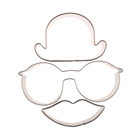 Funny Face Cookie Cutter Set