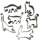 Felines Mini Cookie Cutter Set