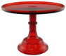 """Cake Stand - Red 10"""""""