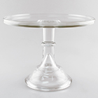 Cake Stand - Crystal 12""