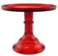 Cake Stand - Red 6""