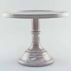"""Cake Stand - Marble 9"""""""