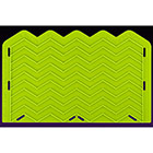 Small Chevron Silicone Onlay Mold