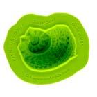 Sugar Snail Shell Silicone Mold