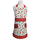 Kids' Apron - Cherries