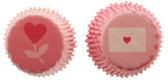 Heart Mini Baking Cups