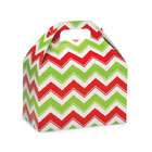 4 lb. Holiday Chevron Treat Box