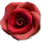 Large Red Gum Paste Roses