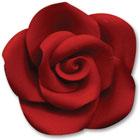 Medium Red Gum Paste Roses