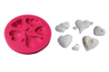 Hearts and More Hearts Silicone Mold