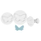 Large Butterfly Plunger Cutter Set
