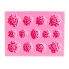 Assorted Roses Silicone Mold