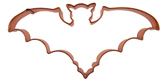 Copper Cookie Cutter-Bat