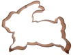 Copper Cookie Cutter - Bunny