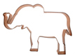 Copper Cookie Cutter - Elephant