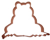 Copper Cookie Cutter-Frog