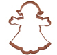 Girl Copper Cookie Cutter