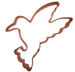 Hummingbird Copper Cookie Cutter