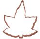 Maple Leaf Copper Cookie Cutter