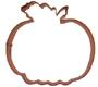 Pumpkin Copper Cookie Cutter