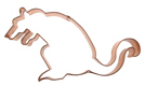 Rat Copper Cookie Cutter