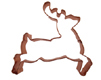 Reindeer Copper Cookie Cutter