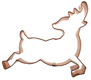 Reindeer 2 Copper Cookie Cutter