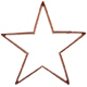 Star Copper Cookie Cutter