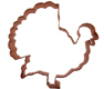 Turkey Copper Cookie Cutter