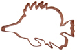 Tropical Fish Copper Cookie Cutter