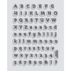 Tiny Alphabet Stamp Set