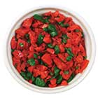 Candy Crunch-Peppermint Crunch-Red and Dark Green