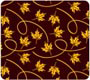 Blowing Leaves Chocolate Transfer Sheet
