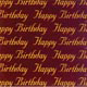 Birthday Chocolate Transfer Sheets