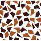 Mosaic Chocolate Transfer Sheet
