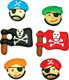 Icing Layons - Pirate Assortment