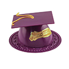 Purple Graduation Cap Topper