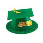 Green Graduation Cap Topper