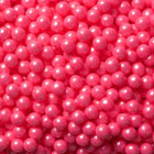 Pearl Bright Pink Candy Beads