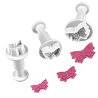 Mini Butterfly Plunger Cutters Set