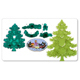 JEM Cutters - Christmas Tree w/Extras