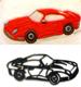 Race Sports Car Patchwork Cutter