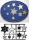 Snowflakes and Stars Patchwork Cutter Set