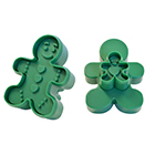 Gingerbread Boy Cookie Cutter Stamp