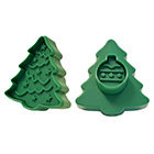 Christmas Tree Cookie Cutter Stamp