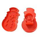 Snowman Cookie Cutter Stamp