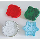 Christmas Cookie Cutter Stamp Set - Large