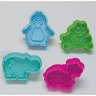 Animal Cookie Cutter Stamp Set