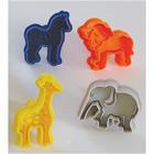 Jungle Animal Cookie Cutter Stamp Set