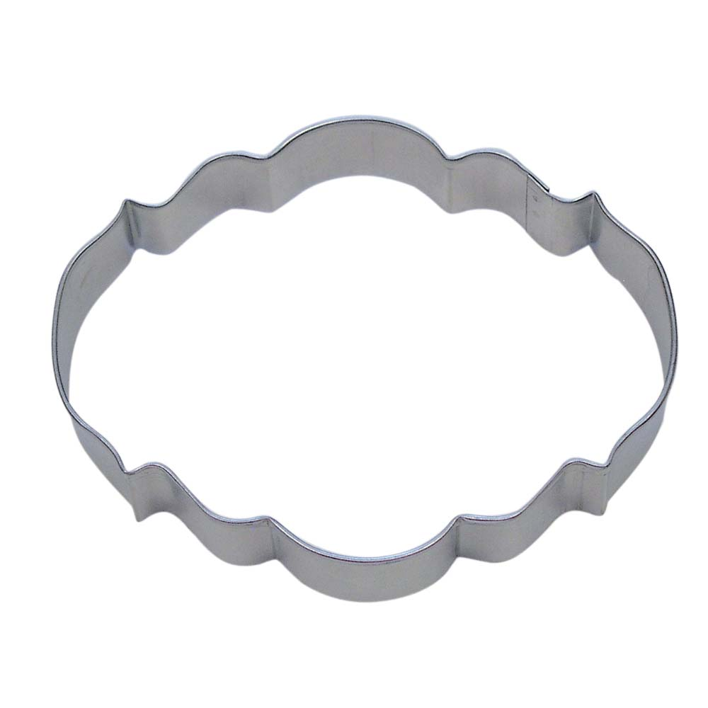Elegant Plaque Cookie Cutter
